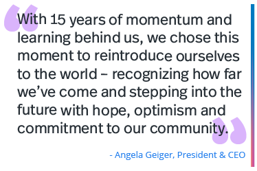 Quote from Angela Geiger, President & CEO of Autism Speaks