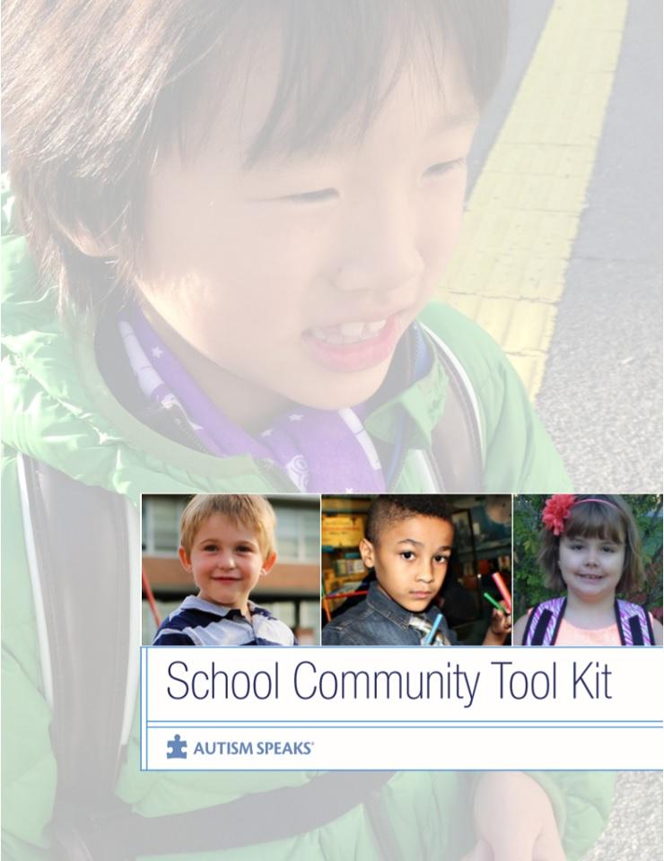 School Community Tool Kit Autism Speaks