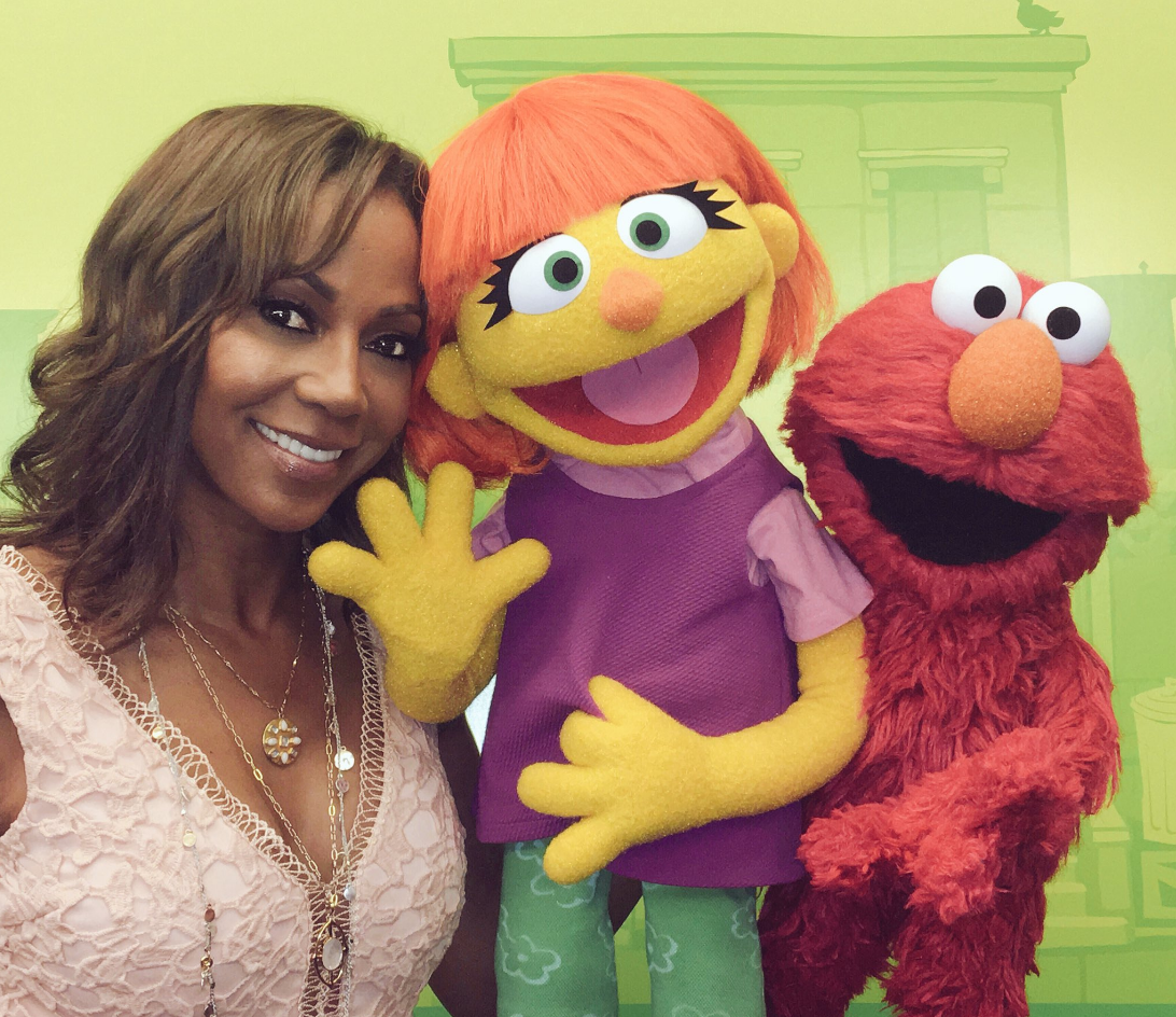 What Muppet With Autism Means To My >> Julia Sesame Street Muppet With Autism Prepares For Tv Debut