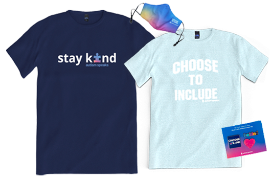 Stay kind and Choose to include t-shirts