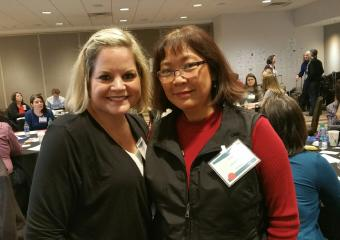 Amy Kelly, MBA, MNM and Liza Krassner, MPA