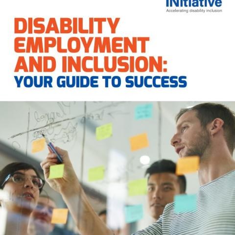 Cover of the Workplace Initiative's Disability Employment and Inclusion Guide