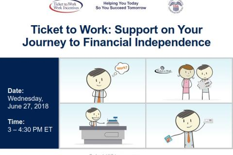 Ticket to Work: Support on Your Journey to Financial Independence