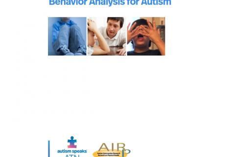 cover of the ATN/AIR-P Applied Behavior Analysis guide