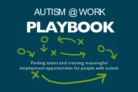 Autism at Work Playbook cover image