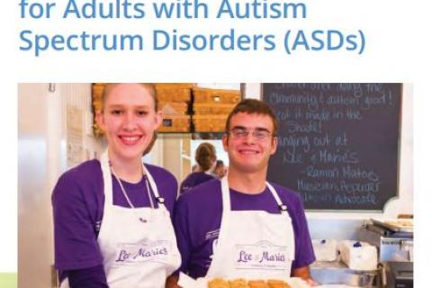 A guide to employment for parents of adults with autism