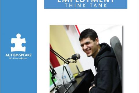 Cover of the Autism Speaks Employment Think Tank Executive Summary