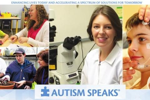 Autism researchers and study participants