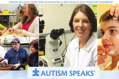 Autism Speaks research program