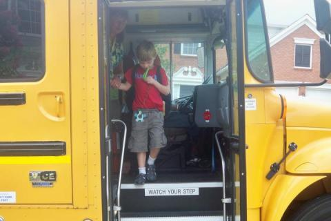 Getting your child with autism ready for the school bus