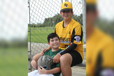 How baseball brought my son with autism and his brother together
