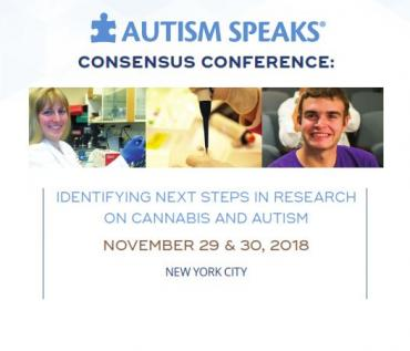 Autism Speaks Consensus Conference on next steps in research on cannabis and autism