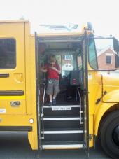Helping children with autism get ready to ride the school bus